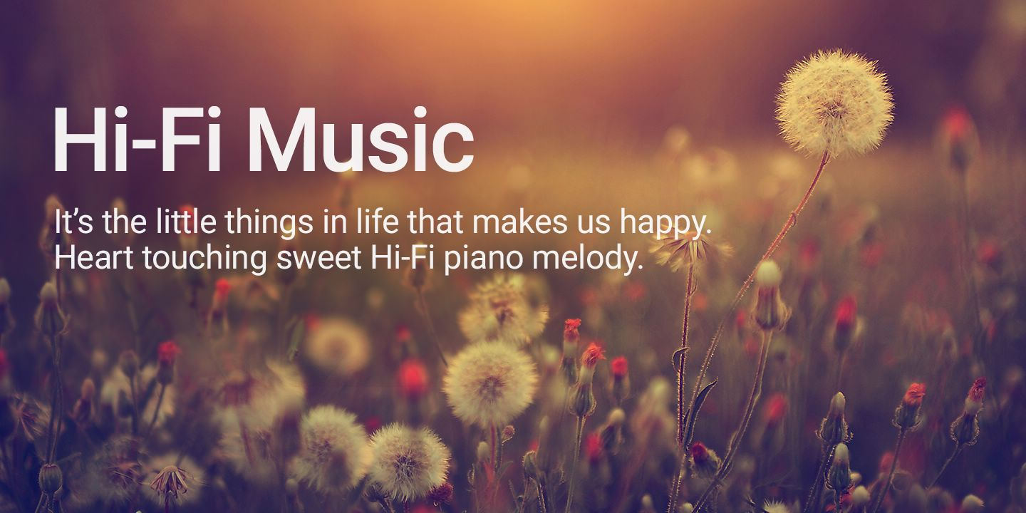 [It's the little things in life that makes us happy. Heart touching sweet Hi-Fi piano melody.]